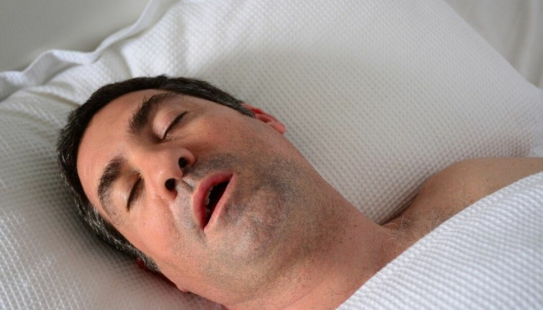 People with sleep apnoea (apnea in US English) repeatedly pause in breathing while they sleep. (Photo: Shutterstock, NTB Scanpix)