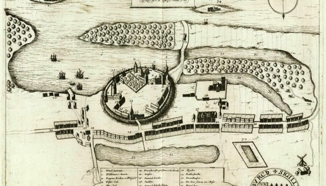 Archaeologists have added a new chapter to the history of Denmark's biggest Royal Castle, Vordingborg. (Image: Peder Hansen Resen)