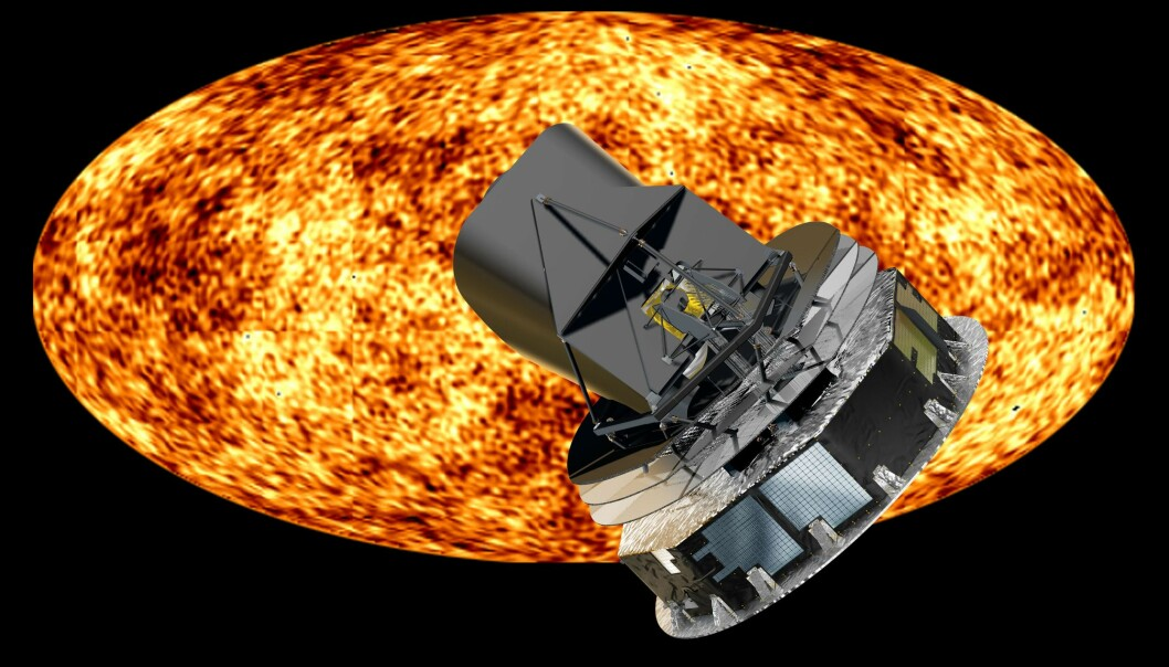 The Planck satellite has been gathering data since 13 August 2009. The first measurements of the cosmic microwave background radiation are expected to be ready in 2012. (Photo: ESA)