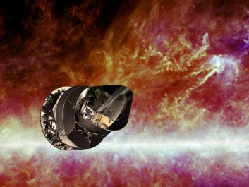 Besides measuring the cosmic microwave background radiation, the Planck satellite has also collected data on dust and gas particles in our galaxy, the Milky Way. (Photo: ESA)