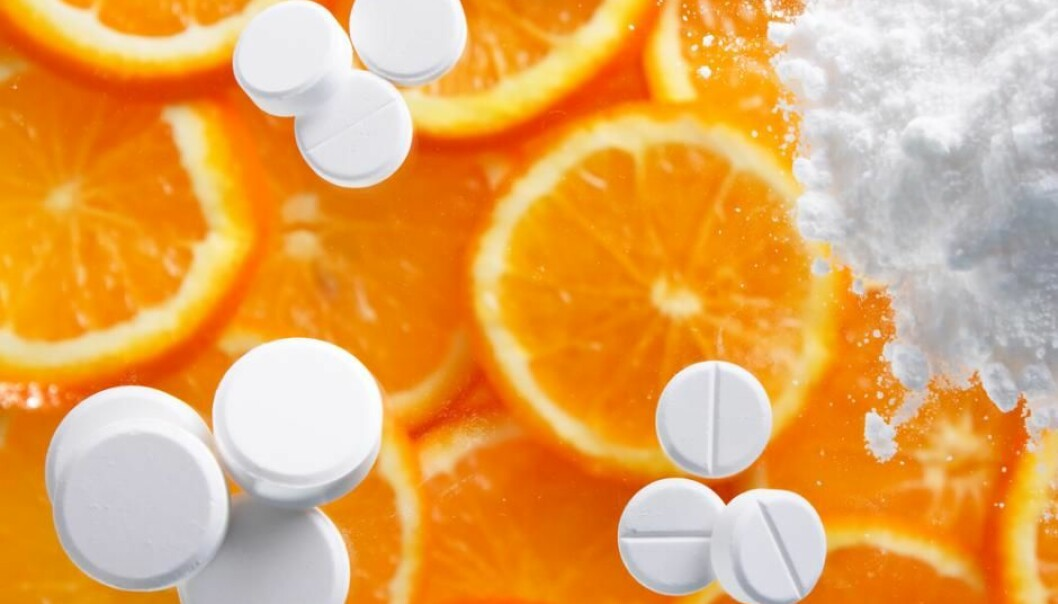 A new study shows that a combination of vitamin C supplements and cancer medicine can activate the cancer cell's inbuilt suicide mechanism, causing more cancer cells to die. But the results still need to be confirmed in human trials. (Photo: Shutterstock)
