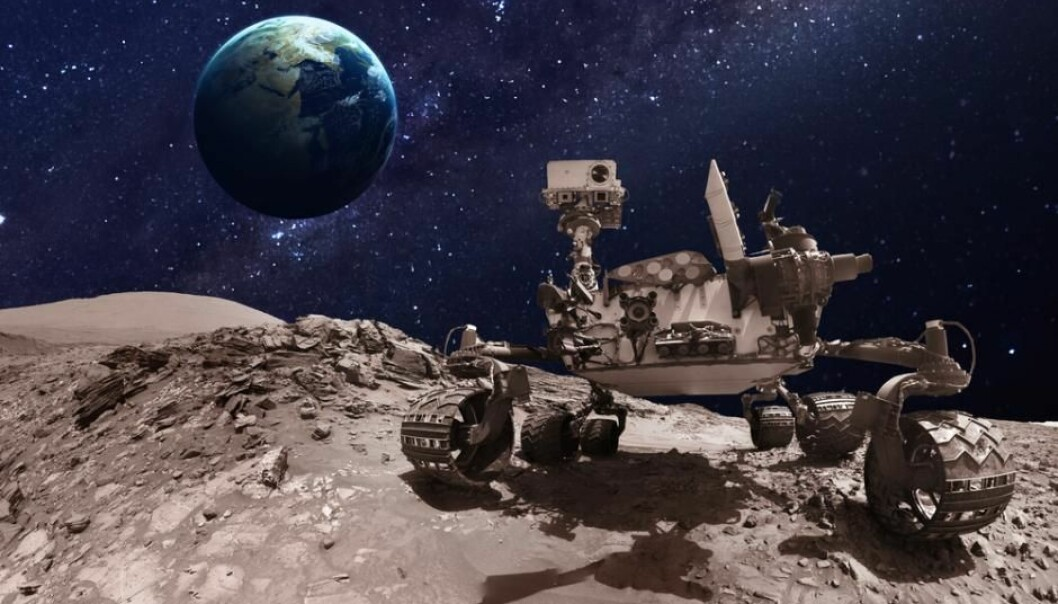 In 2020, NASA will launch the Mars Rover carrying a range of different equipment to search for life on the red planet. (Photo: Shutterstock)