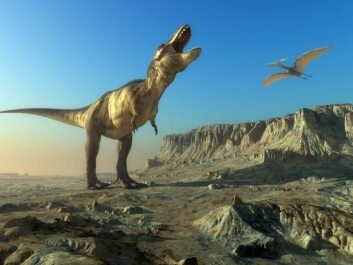 All dinosaurs--except birds--went extinct at the end of the Cretaceous, 65 million years ago. (Photo: Shutterstock)
