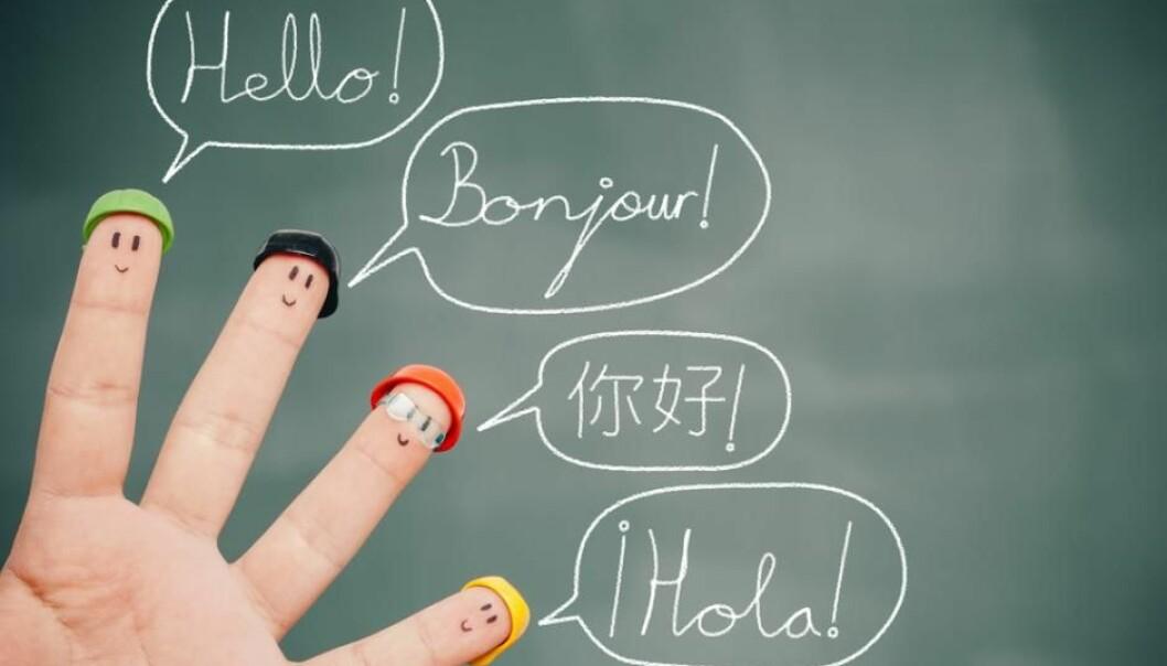 What do English, Mandarin, Spanish, and Danish have in common? (Photo: Shutterstock)