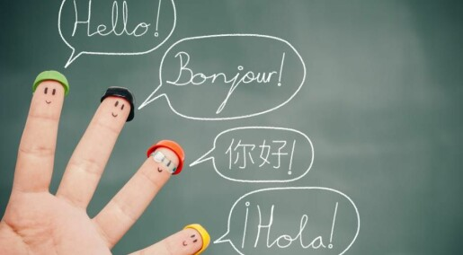Two-thirds of all languages use similar sounds in common words