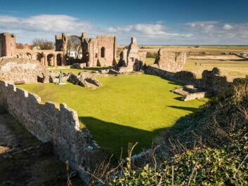 The raids on Lindisfarne in England mark the beginning of the Viking Age for historians. But archaeologists question whether plundering of a British monastery is enough to initiate a cultural period in Scandinavia. (Photo: Shutterstock)