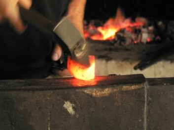 In the late 700s blacksmiths began using bog iron ore, which revolutionised the production of both weapons and domestic tools. (Photo: Michael Nielsen)