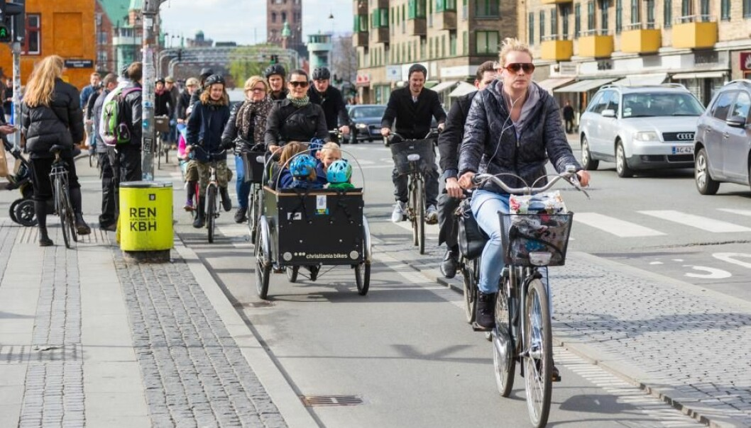 Cycling at least one kilometre to and from work can reduce your risk of developing high blood pressure, cholesterol, and diabetes, shows two new studies in Denmark and Sweden. (Photo: Shutterstock)