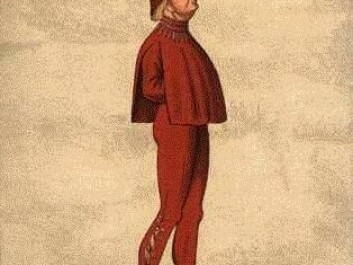 The younger generation's clothes were also criticised in the 15th Century, Here, King Christoffer III of Denmark (1416 to 1448) is depicted wearing particularly tight trousers. (Photo: Wikimedia)