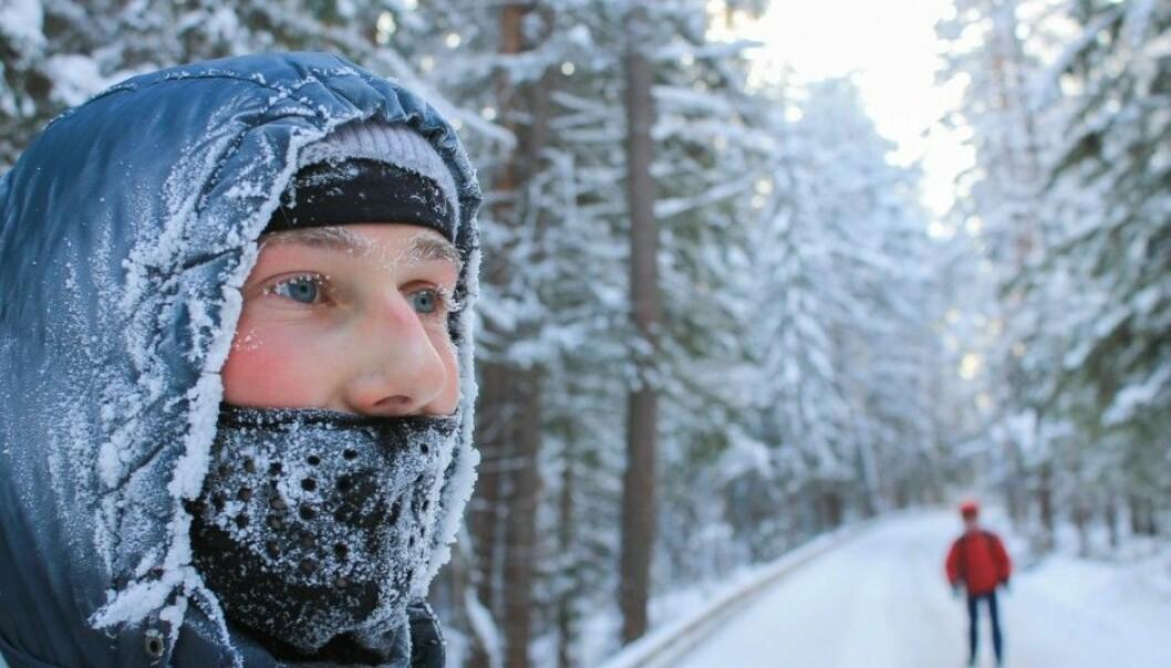 Swedish researchers confirm that frigid weather gets followed by an outbreak of flu. (Photo: Olesia Babushkina / Shutterstock / NTB scanpix)