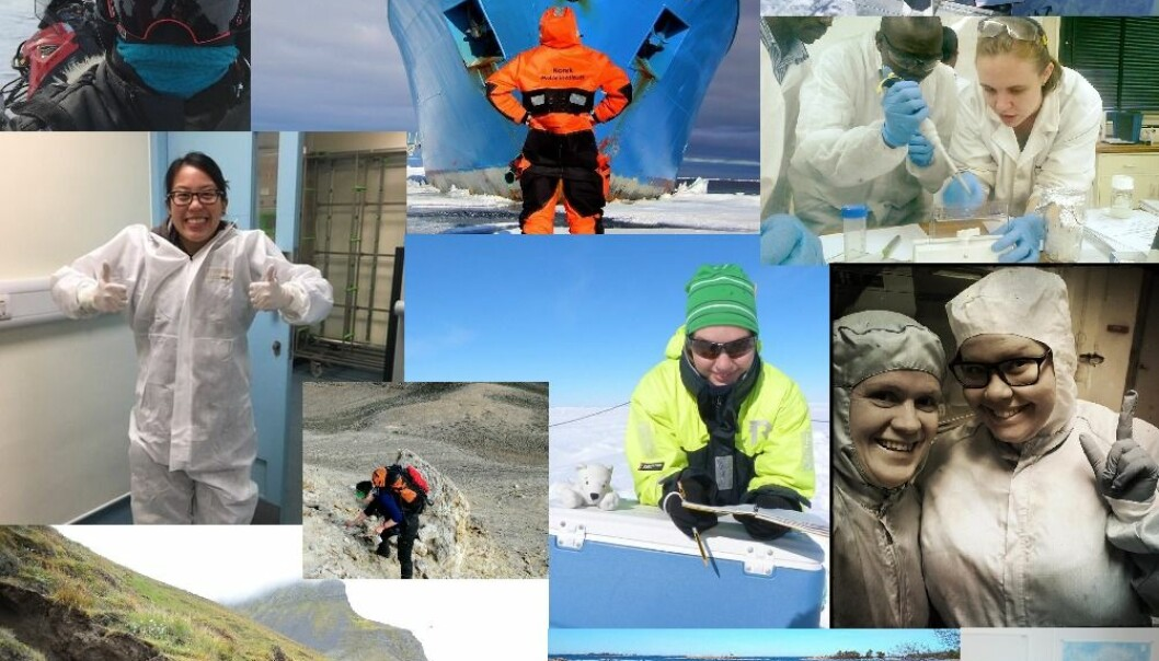 To celebrate UN International Day of Women and Girls in Science, we have collated tweets from female #ActualLivingScientists working or studying at universities and research institutions throughout the Nordics. (Photos collated from twitter)