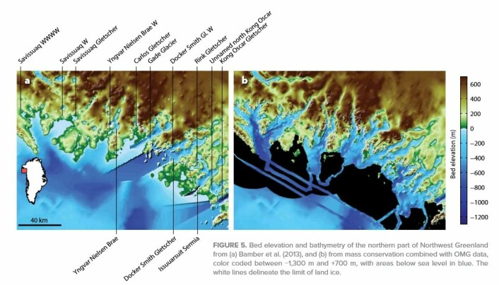 NASA project reveals vulnerability of Greenland glaciers