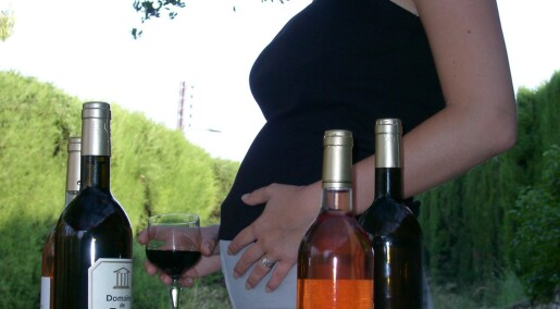 A single glass of wine can harm your foetus