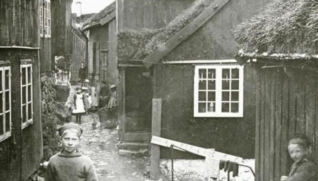 Thorshavn, Faroe Islands. Sometime between 1900 and 1925. (Photo: The Danish National Museum)