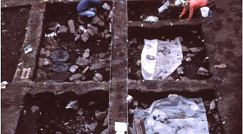 One of Greenland's first inhabitants had a hole in their sock