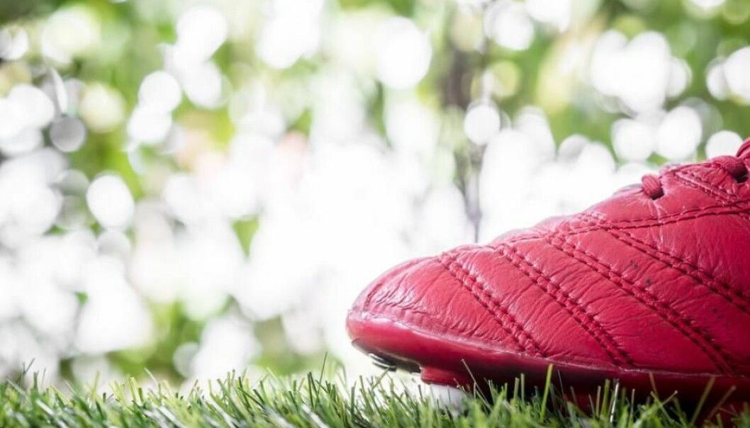 Could this be the world's best football boot? Perhaps. You can only find out by sticking your foot in it. Colour, stitching, studs, brands, are no indication, say scientists. (Photo: Shutterstock)
