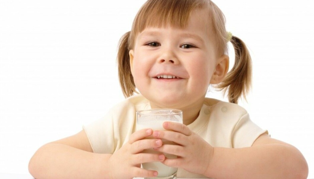The Swedish parents in a study had self-diagnosed one out of five of their children as having food allergies. So these kids were kept away from milk, eggs, fish or wheat products.  (Photo: Colourbox)