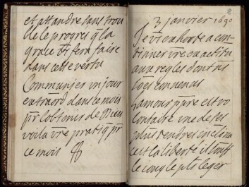 Maintenon's letters give important insights into Church history. (Photo: Lars Cyril Nørgaard)