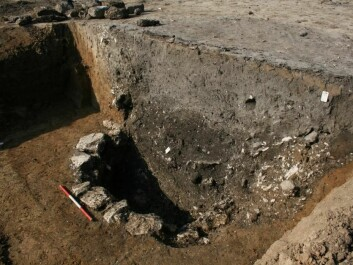 The well during excavation. (Photo: Museum of south east Denmark)
