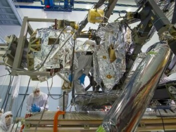 DTU Space has helped construct the MIRL instrument installed in the James Webb Space Telescope. (Photo: NASA/Chris Gunn)