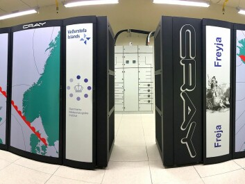 In 2016, DMI launched a new super computer, based in Iceland, where it saves energy by running on geothermal power. (Photo: DMI)