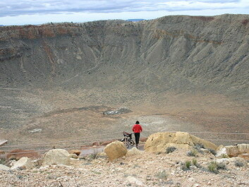 Meteor crater, Arizona. (Photo: Kevin Walsh/wikipedia, CC BY-SA)