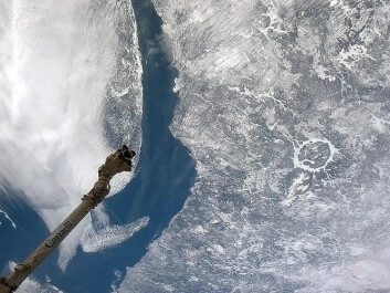 The Manicouagan crater in Canada seen from the International Space Station. (Photo: NASA/Chris Hadfield)