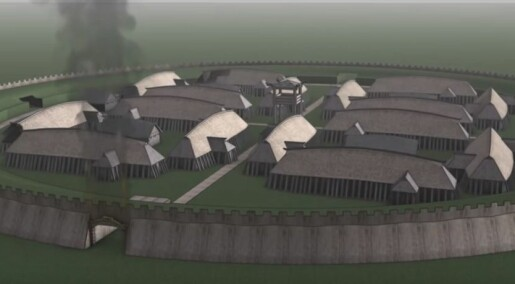 New discovery could rewrite Viking fortresses' history