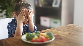 Picky children might have eating disorders