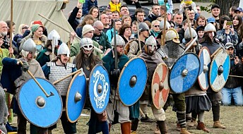 Did Vikings really fight behind a shield wall?