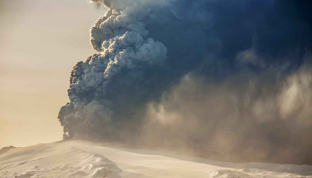 Volcanoes are more often associated with cooling the climate, but they can also inject halogens that can degrade ozone and allow more UV-radiation through to warm the Earth's surface. (Photo: Shutterstock)