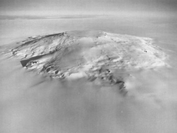 Mount Takahe, West Antarctica, from the air. (Photo: U.S. Navy / Wikipedia)
