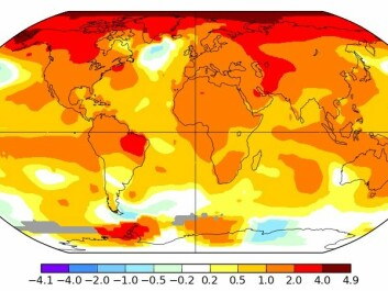 2016 temperatures continued to break records. Temperatures reached one degree Celsius above pre-industrial times.  (Map: NASA)