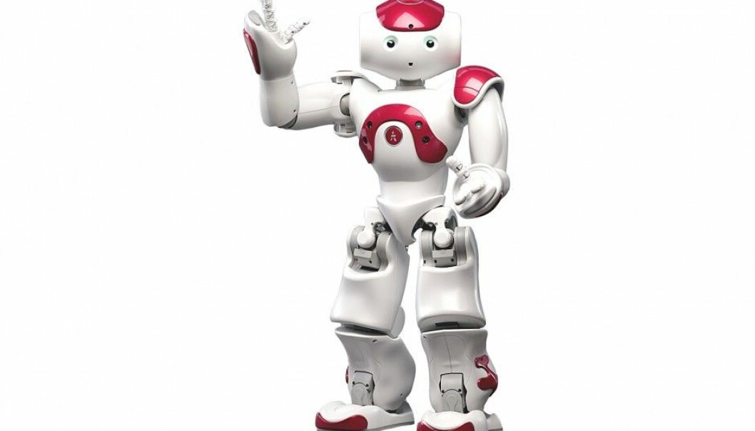 Nao the robot looks like a human being and, according to the manufacturer, is now the most used teaching robot in the world. He was developed in France and costs USD 10 000. (Picture: Aldebaran Robotics)