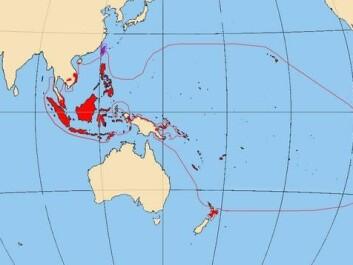 Map of the Austronesian language family. (Photo: Vrata / Wikimedia Commons, CC BY-SA)