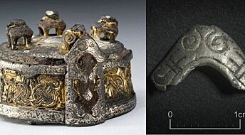 This tiny ornament may have belonged to Harold Bluetooth's shaman
