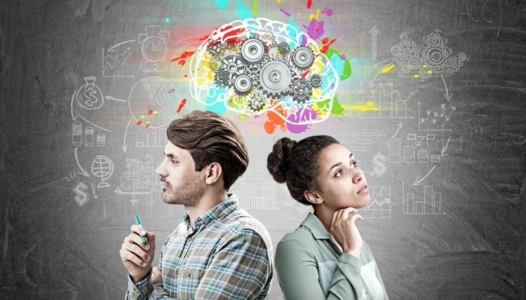 The male and female brain are different in some respects. But it is unclear if – and how – these biological differences are related to cognitive gender differences. (Photo: Shutterstock)