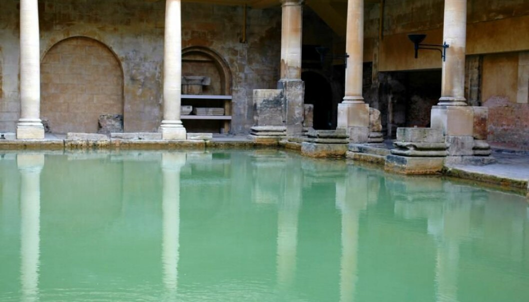 The Roman bath was probably an effective way to transmit disease. (Photo: Shutterstock)