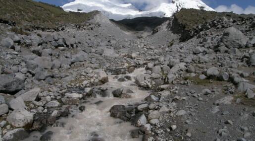 Scientists prepare for loss of mountain glaciers