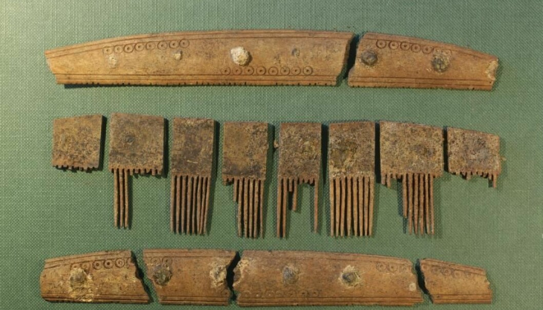 The comb was discovered in Ribe, West Denmark. (Photo: Søren Sindbæk)