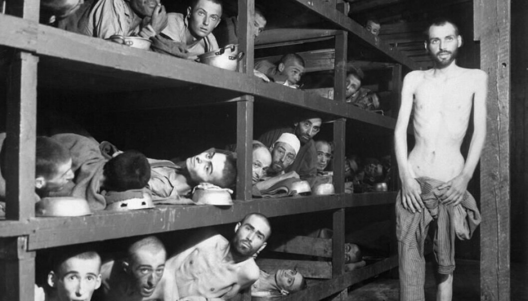 Present-day German youth recognise that their country committed widespread war crimes, including the Holocaust. (Photo from Buchenwald concentration camp in 1945 by H. Miller)