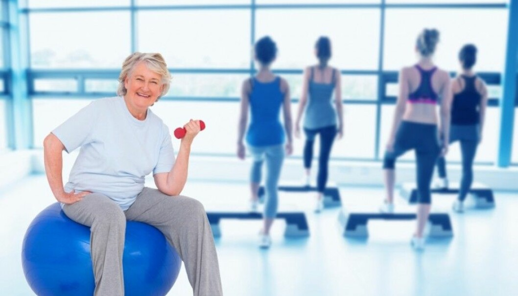 Working out is no less important as you get older. New research from Sweden shows that strength training in combination with a healthy diet of fruits, vegetables and fish can help protect you against falls. (Photo: wavebreakmedia / Shutterstock / NTB scanpix)