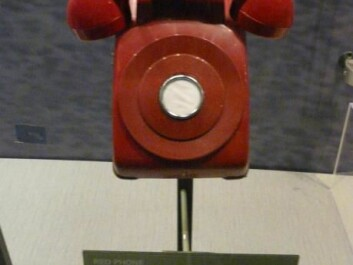 The hotline between the US and the Soviet Union was immortalised in the 1964 film, Dr. Strangelove, as a red telephone. In reality it was not even a telephone, but a teleprinter known as MOLINK. (Photo: Piotrus)
