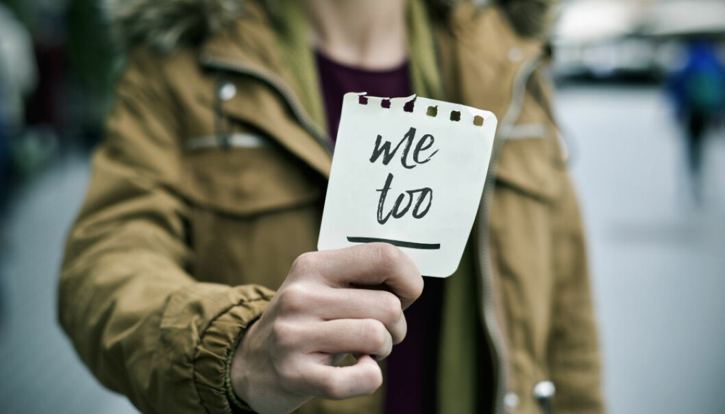 """""""Unless #metoo had shown the magnitude of the problem, we would have had to spend much time explaining that there is a lot that never reach the surface,"""" says Anette Borchorst, who has studied sexual harassment in the workplace. (Illustrative photo: Colourbox)"""