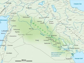 Mesopotamia covered the region between the Euphrates River and the Tigris River in present day Iraq. The region was home to cities listed in The Old Testament, such as Ninive and Babylon. (Photo: Wikipedia.org)