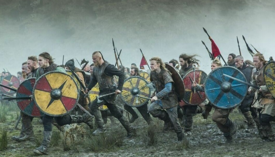 Thousands of Viking warriors invaded England in the 9th century. A famous grave has now been dated to this period. (Photo: Shutterstock)
