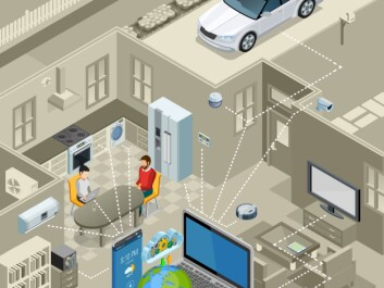 In recent years, a number of sensors have been implemented across cities—besides our smartphones, which we increasingly use as sensors. They are characteristically small, cheap, and connected to the Internet of Things (IoT). (Illustration: Shutterstock)