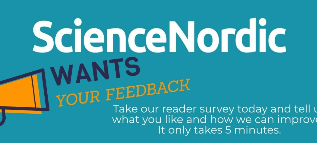 Help us improve: Take the ScienceNordic reader survey
