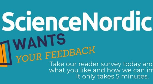Help us improve: Take the ScienceNordic reader survey