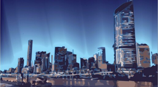 Future cities could be lit by algae